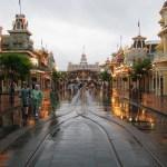 Disneyland con lluvia