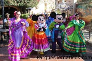 Dia de Reyes Celebration. Dia de Reyes Celebration in Zocalo Park in Frontierland, Disneyland (Disneyland Resort, Anaheim, CA)