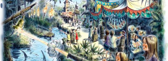 El nuevo juego de Piratas del Caribe en Magic Kingdom