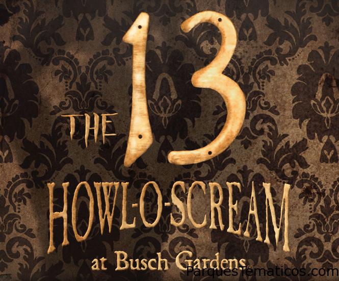 Howl-O-Scream Busch Gardens Tampa