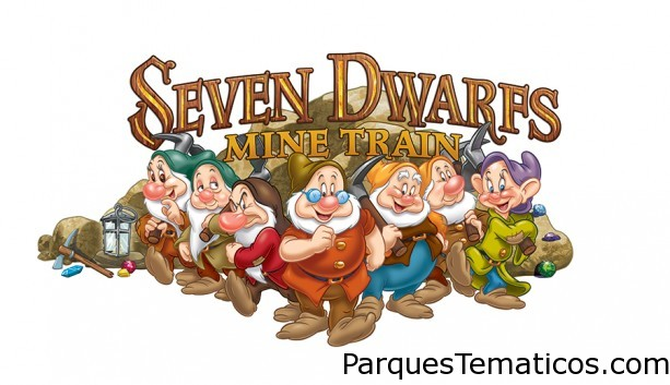 The Seven Dwarfs Mine Train roller coaster