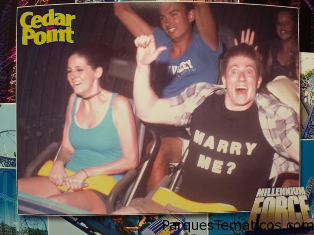 Cedar Point propuesta de casamiento