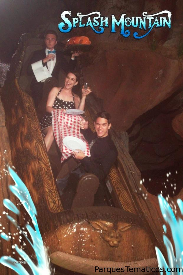 Splash Mountain cena de lujo