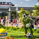 Mundial FIFA 2014 en los parques temáticos