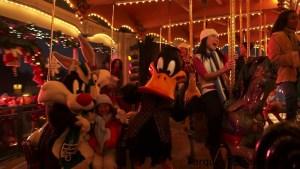 Navidad en Six Flags Méjico con el Pato Lucas