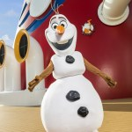Olaf te recibe en tu llegada al Crucero Disney