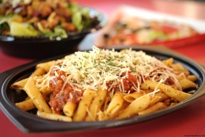 """Terra Nova Tomato Basil Pasta"", Redd Rockett's Pizza Port, Disneyland Park"