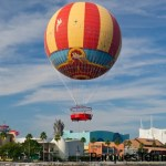 Vistas aéreas desde Downtown Disney