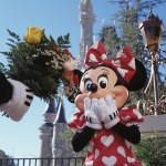Mickey Mouse prepares to surprise his favorite Valentine, Minnie Mouse, with a bouquet of flowers. Throughout Walt Disney World Resort, couples who've been bitten by the love bug don't need a fairy godmother to find romance and storybook settings at one of the most romantic places on earth.