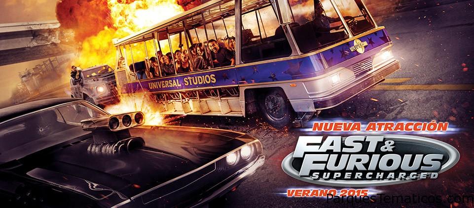 Fast & Furious en Universal Orlando en 2018