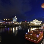 Por las noches The Boathouse se viste de gala