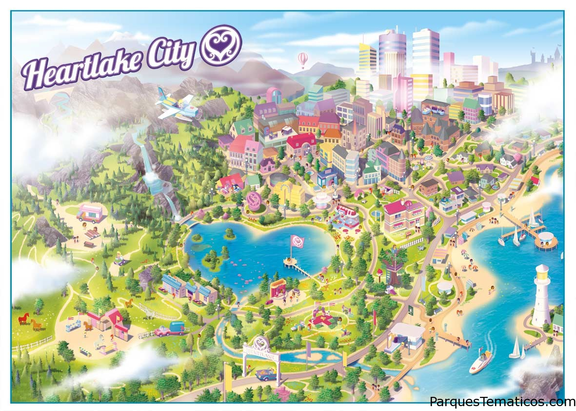 Lego Friends Heartlake City