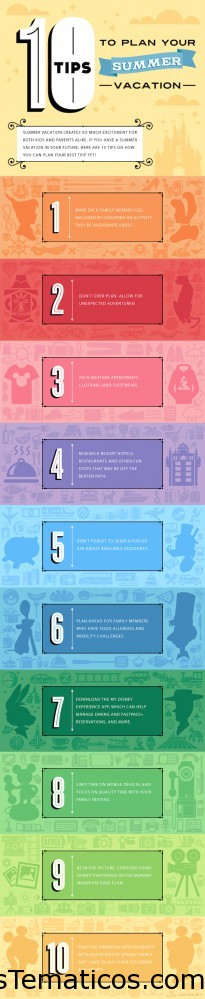 Verano en DisneyWorld Consejos y Guía