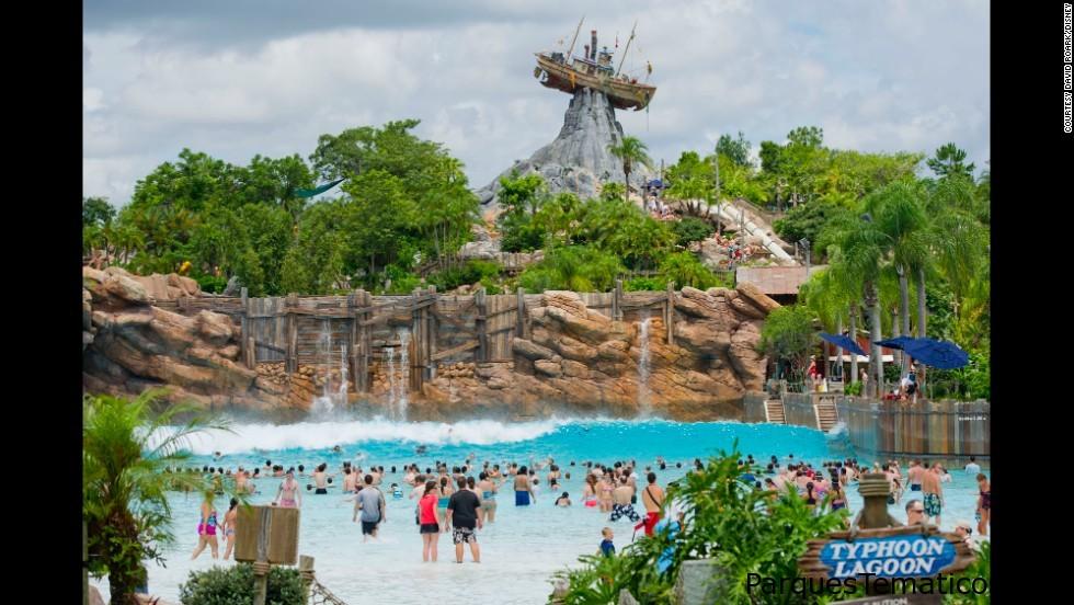 Papá Experto: Hoy visitamos Disney's Typhoon Lagoon Water Park