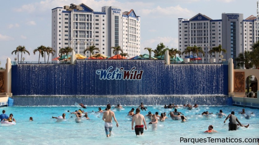 Wet'n'Wild park in Orlando, Orlando, United States. (Photo by: Godong/UIG via Getty Images)