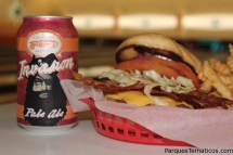 Cabana Bay Beach Resort – Galaxy Bacon Cheese Burger paired with Cigar City Invasion Pale Ale