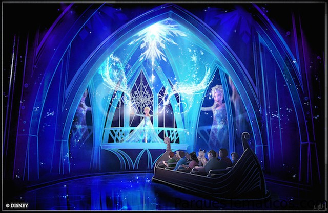 Llega la nueva atracción Frozen a Epcot