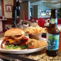 Hard Rock Hotel – The Kitchen Burger paired with Funky Buddha Brewery Hop Gun IPA