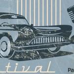 Poneos vuestras chaquetas de cuero para disfrutar de música en vivo y coches estadounidenses del estilo vintage durante esta fiesta del rock and roll de los 50.