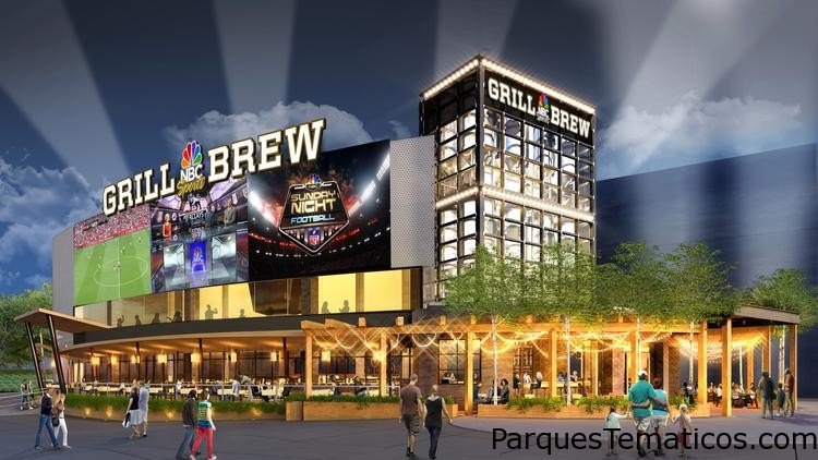 NBC Sports Grill & Brew en Universal CityWalk