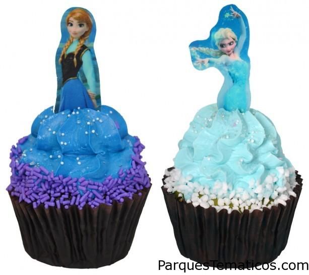 Frozen Cupcake se vende en el Ice Palace Café