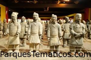 Los Soldados de Terracota en China