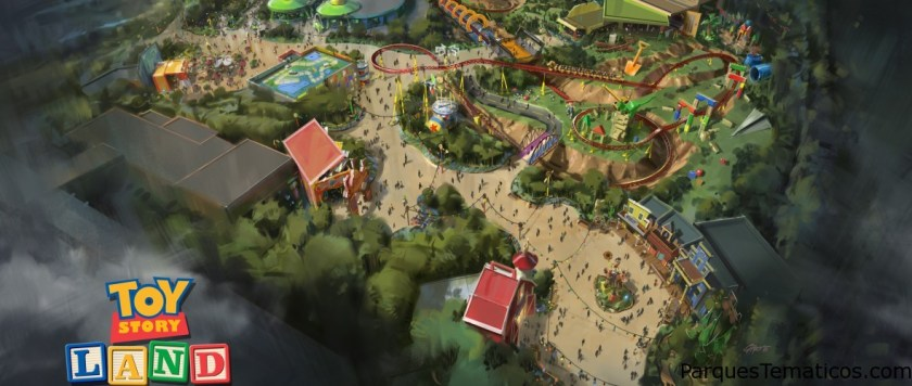 Toy Story Land en Disney´s Hollywood Studios