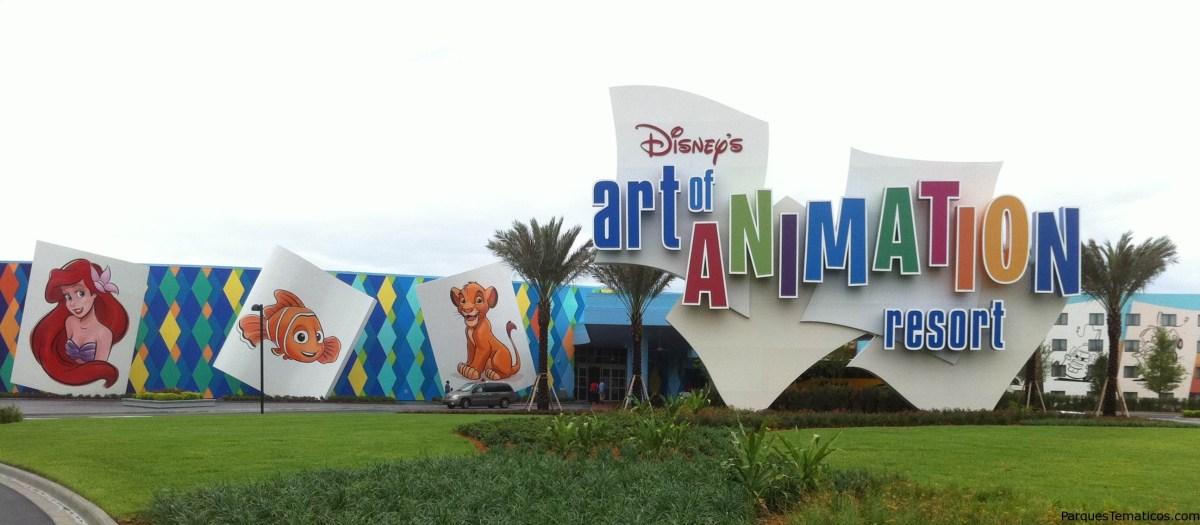 Madre Experta: Disney´s Art of Animation Hotel