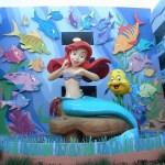La entrada principal al Sector Little Mermaid del hotel con una de las tantos puntos fotográficos