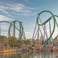 The Incredible Hulk Coaster renovada para 2016
