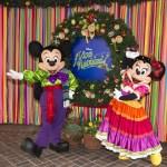 Fiestas Navideñas en el Disneyland California