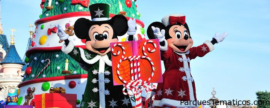 Navidad en Disney Paris