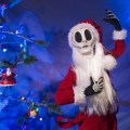"The Pumpkin King himself, Jack Skellington, joins the holiday celebration at Walt Disney World Resort during MickeyÕs Very Merry Christmas Party. Dressed as ""Sandy Claws,"" Jack is greeting party guests and bringing Christmastown to Storybook Circus at Magic Kingdom. The special-ticket event takes place on select nights in November and December at Magic Kingdom in Lake Buena Vista, Fla."