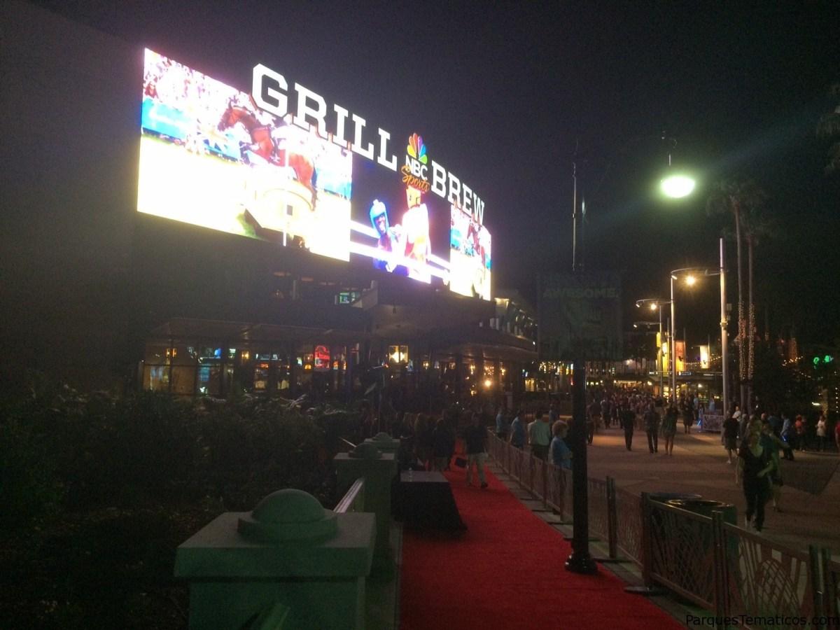 NBC Sports Grill & Brew inauguró en Universal's CityWalk