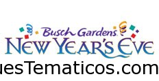 New Year's Eve en Busch Gardens