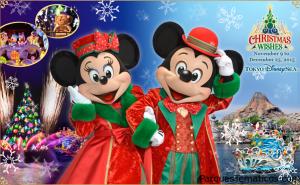 Christmas Wishes en Tokyo DisneySea