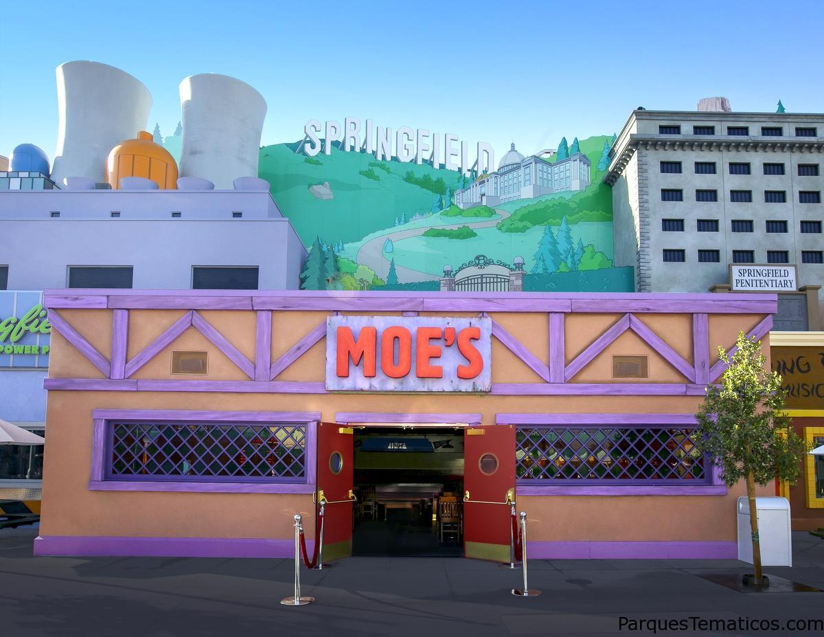 Restaurantes del Parque Temático