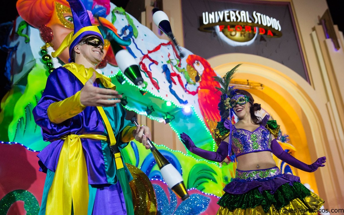 Mardi Gras de Universal Orlando 2016