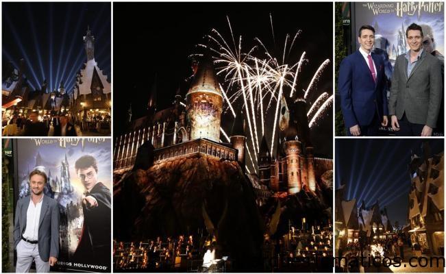 El mundo de Harry Potter llegó a Universal Studios California