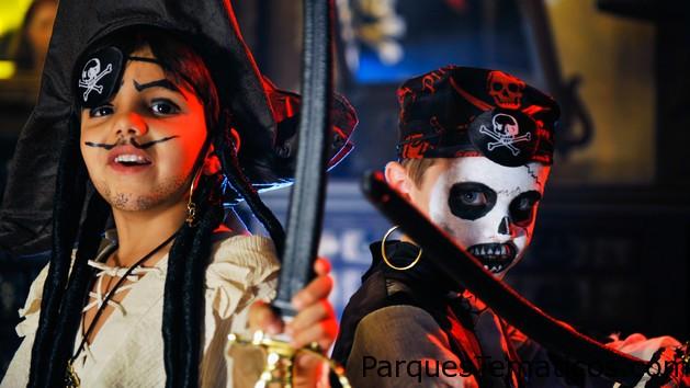 La liga de los Piratas en Disney World Orlando