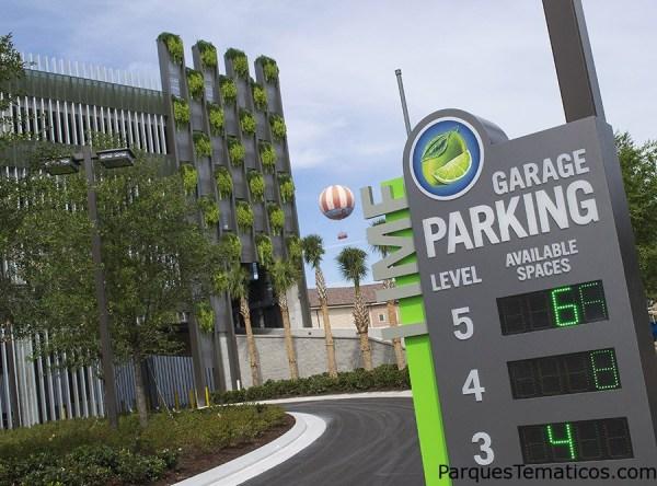 Nuevo sisitema de estacionamiento inteligente en Disney Springs