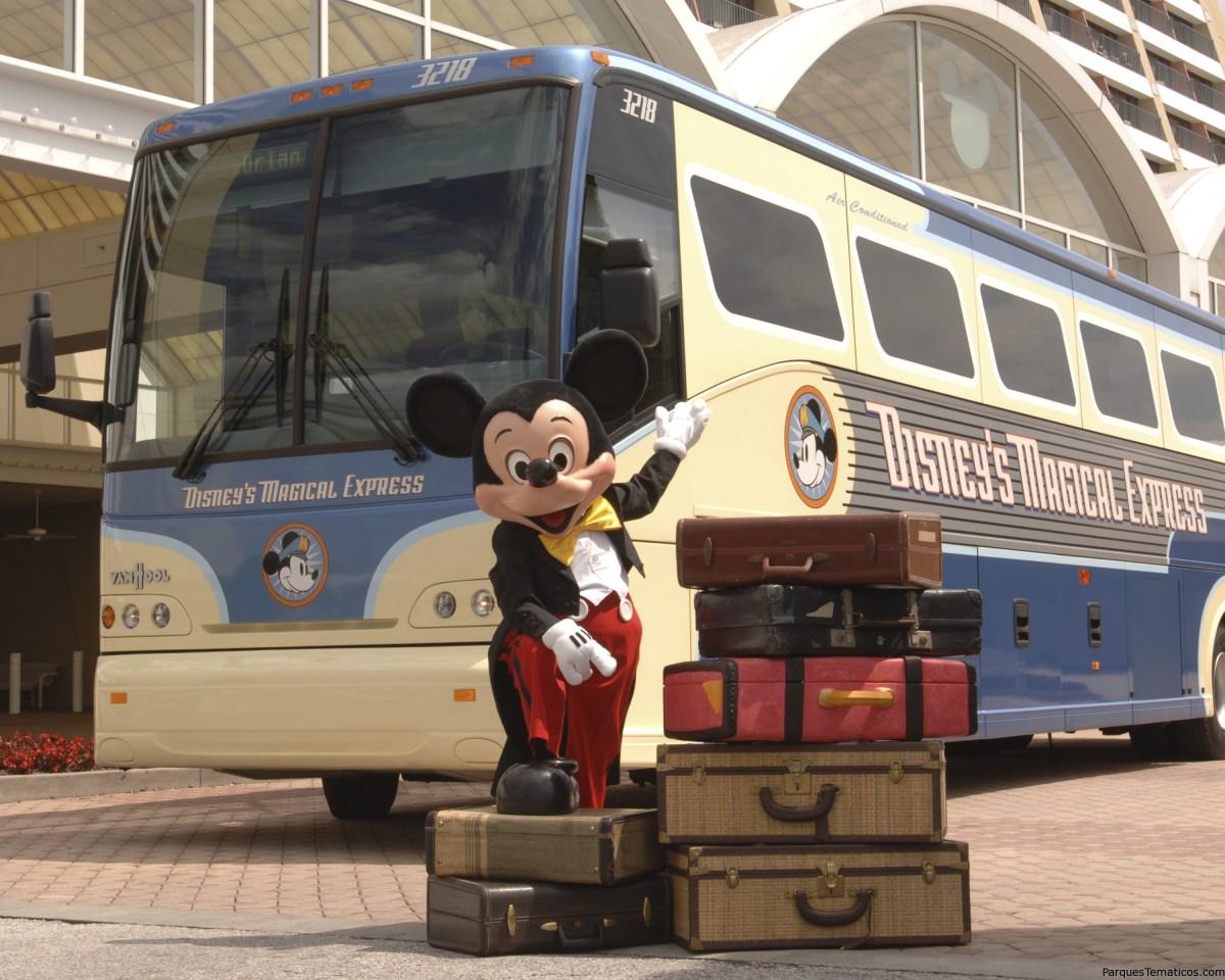 Disney's Magical Express, qué es y cómo funciona?