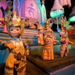 """It's a small world"" en Disneylandia California"