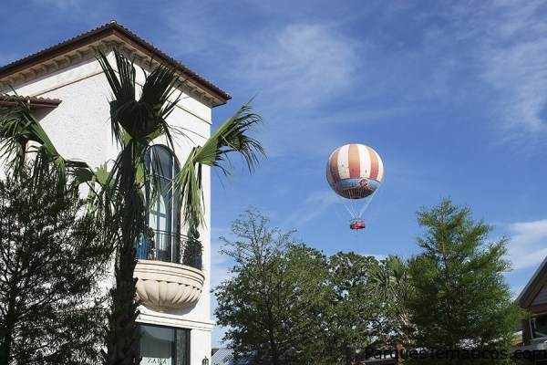 Vistas del Town Center en Disney Springs
