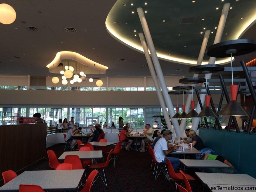 Food Court del Cabana Bay