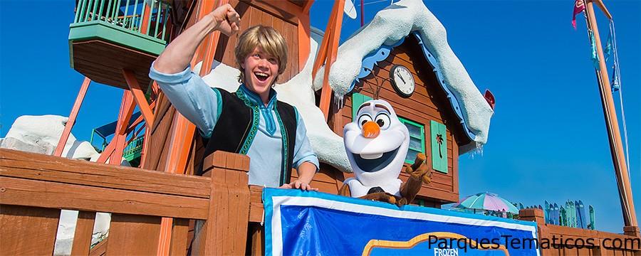 Frozen Games at Blizzard Beach