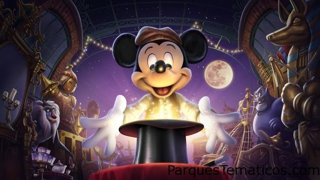 Espectáculo Mickey and the Magician