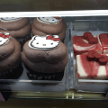 Cupcakes del nuevo local de Hello Kitty