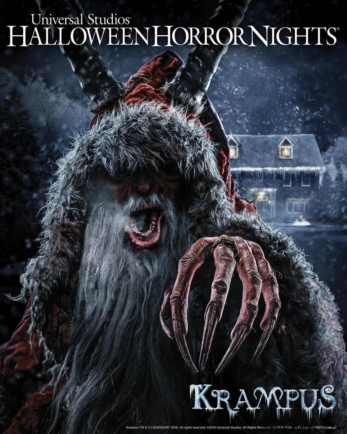 Krampus está llegando al HALLOWEEN HORROR NIGHTS 26