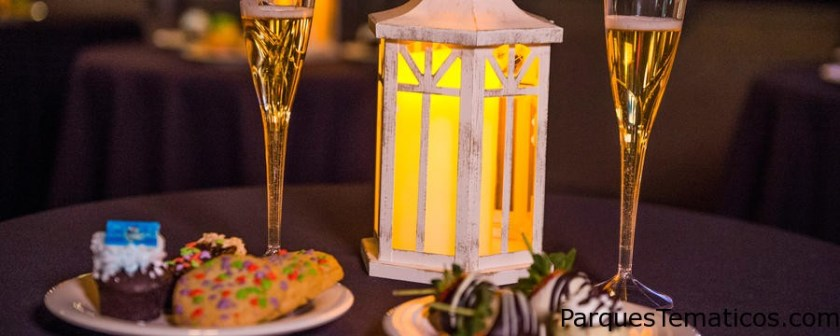 Wishes Fireworks Holiday Dessert Party en Tomorrowland Terrace